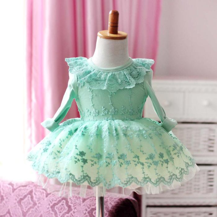 newborn baby frock designs christmas party princess pillowcase lace dress 1 year old toddler girl birthday formal dresses 0996 in dresses from mother kids - 12 Month Christmas Dress