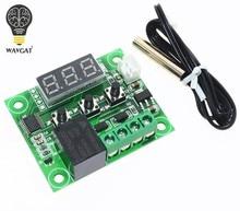 1 pçs w1209 dc 12v calor frio temp termostato interruptor de controle temperatura controlador temperatura termômetro controlador thermo