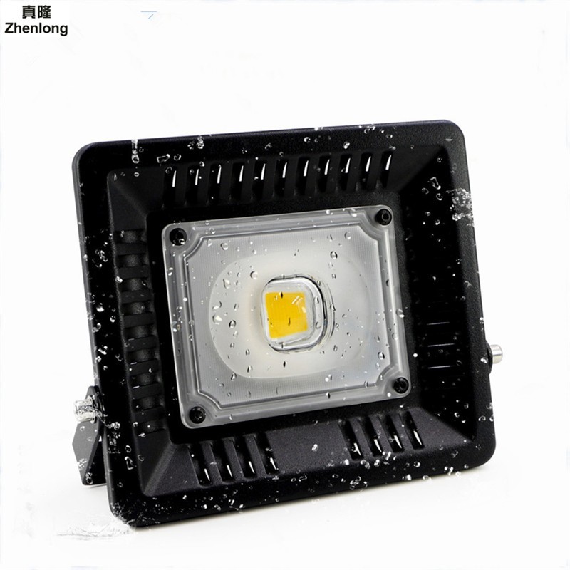 Led Flood Light Outdoor Spotlight Floodlight 30W 50W 100W Wall Washer Lamp Reflector IP65 Waterproof Garden 110V 220V Lighting [mingben] led flood light projector ip65 waterproof 30w 50w 100w ac 220v 230v 110v led floodlight spotlight outdoor wall lamp