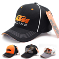2017 Latest motor GP KTM Racing Cap Motocross Riding Caps Women Men Casual Adujustable Hat Baseball Cap Motorcycle Snapback Hat