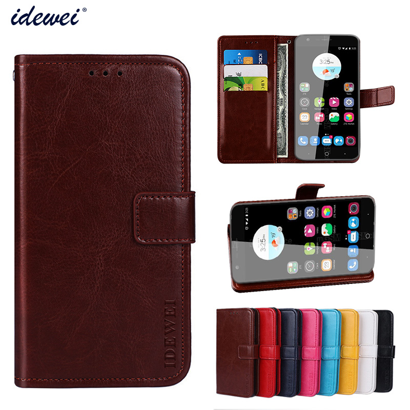 Idewei luxury case for zte blade v8 lite flip wallet - Alienware concealed carry ...