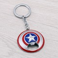 JM New Design Comics Super Hero Captain America Avengers Bottle Opener Alloy Keychains For Fans Movie Jewelry Llavero
