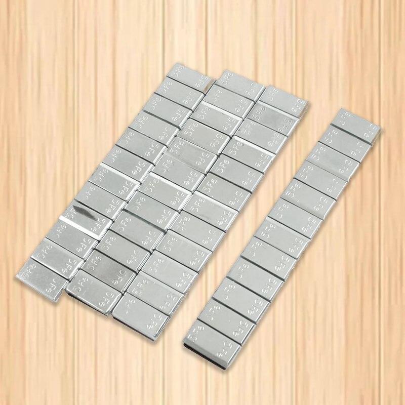 4x Клей автомобилей грузовых шин шины колеса баланс веса полосы 2,1 унц./60 г серебро