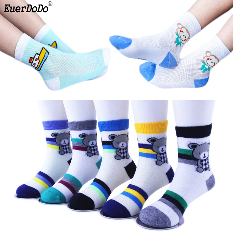 1 2 3 4 5 6 7 8 9 10 11 Years Children's Cheap Stuff Kids Socks 5 Pairs/lot For Boys Girls Cartoon Socks
