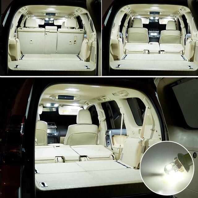 8X Canbus Error Free White Interior LED Light Package Kit for 1998 - 2017 2018 2019 Subaru Forester Crosstrek led Interior Light 4