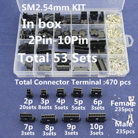 SM2 54 Kits 53 Sets Kit In Box 2p 3p 4p 5p 6p 7p 8p 9p
