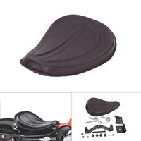 Brown Motorcycle Solo Seat with Bracket Spring For Harley Sportster XL 1200 883 XL1200 XL883 Iron 48 2004 2015 Cafe Racer #58215