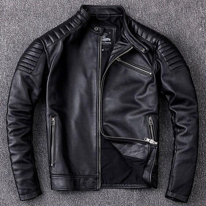 HTB1acjJXvvsK1Rjy0Fiq6zwtXXa7 Brand new cowhide clothing,man's 100% genuine leather Jackets,fashion vintage motor biker jacket.cool warm coat