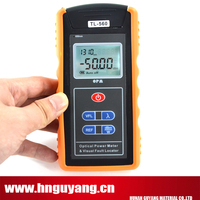 Handheld TL 560 Fiber optical power Meter built in 1mw VFL