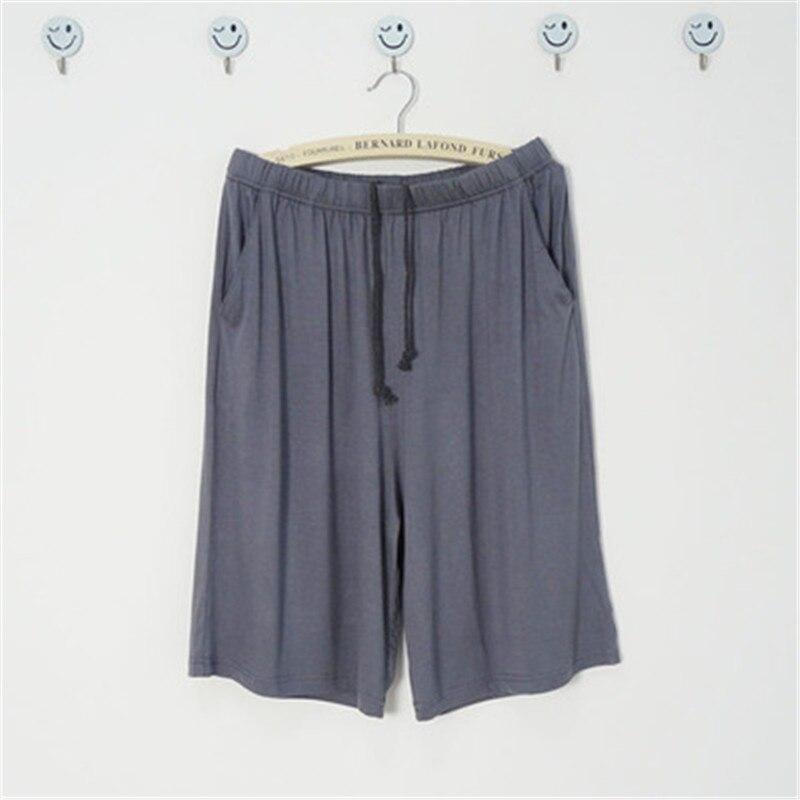 Pajamas Pants Women Summer Shorts Men Modal Shorts Thin Solid Women\\\'S Beach Pants Lounge Couple Sleep Bottoms