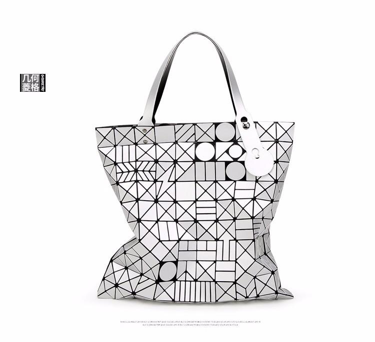 European big tote bao bao bag fashion Handbags 17 Women Hand Bag Luxury Brand Designer Geometric laser baobao Bag ladies 8