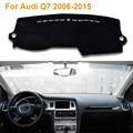 2016 Car Styling Sombra Protectora Dashboard Mat Cojín Pad Photophobism Alfombra Interior Para Audi Q7 2006-2015