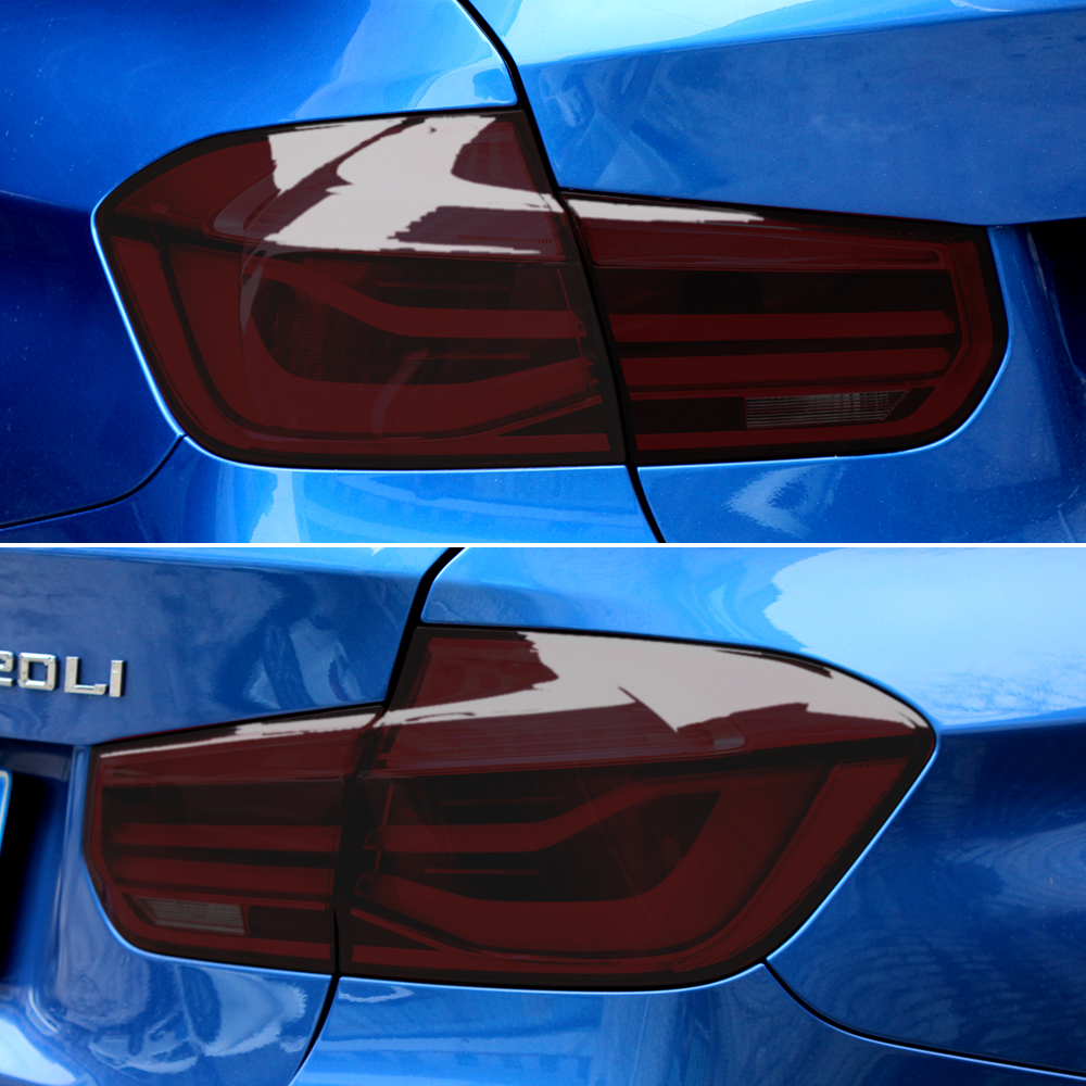 Car Styling Headlight Taillight Fog Light sticker for Peugeot 208 508 3008 BMW E36 F30 F10 E30 F20 X5 Mitsubishi lancer asx-in Car Stickers from Automobiles & Motorcycles
