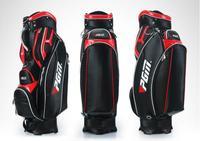 Vendita calda! Brandnew di alta qualità Sacca Da Golf per Gli Uomini 2 Colori PU Golf PGM Sacchetto Pallina Standard Con Coperchio