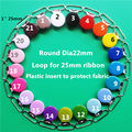 50pcs/lot 1'' 25mm round metal hook baby dummy pacifier holder clips suspender soother plastic insert clips LEAD NICKLE Free