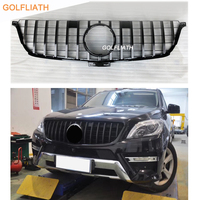 For Mercedes Benz ML Class W166 AMG GT R grille Front Grille FOR ML class ML250 ML300 ML320 ML350 ml400 ML450 2012 2015