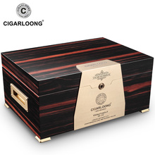 Humidor cedar wood double large capacity cigar moisturizing box/cabinet CA-4006