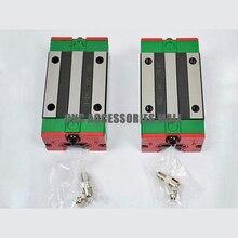 2 шт. каретки HGH15CA HIWIN линейные направляющие блоки для HIWIN линейный рельс HGR15