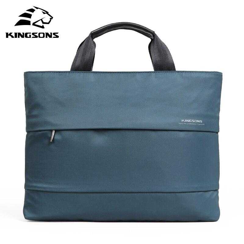 Kingsons Waterproof Shockproof Laptop Handbag for 13 14 15 Computer for Men and Women Notebook Sleeve Bag for Pad Business 2017