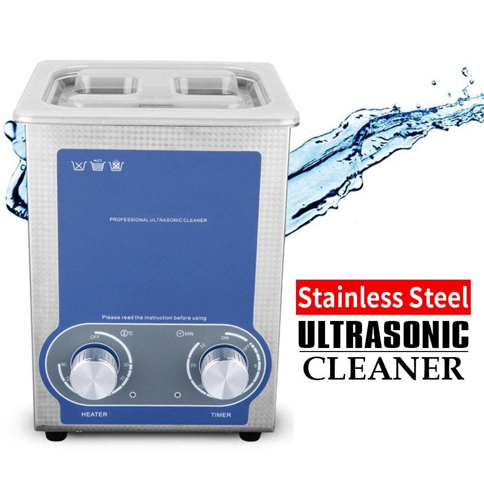 SONIC-P2 Clerance GT 2L nettoyeur à ultrasons minuterie de chauffage réservoir en acier inoxydable bain à ultrasons