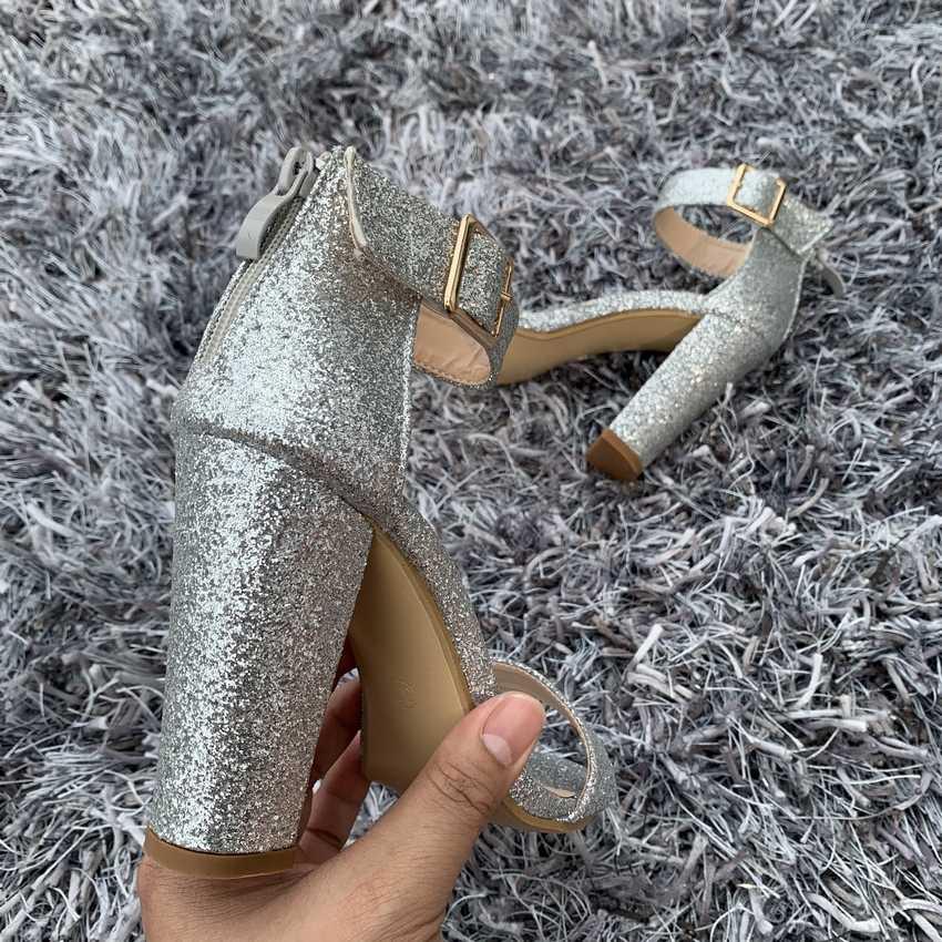 2019 الصيف النساء الصنادل مثير صندل كعب عالٍ رباط الكاحل أحذية النساء اللمحة تو عالية الكعب أحذية الزفاف الحفلات امرأة