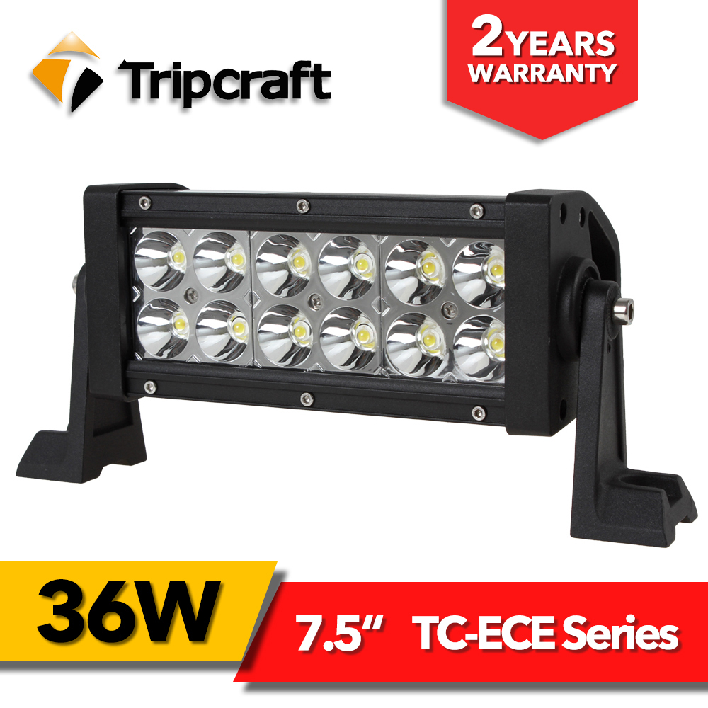 7.5 Inch Led Light Bar For Offroad Boat Car Tractor Truck 4x4 SUV ATV 10V 30V led 36W daytime running light bar 12v 24v 14 120w offroad led light bar atv yacht boat truck trailer tractor car suv 4wd 4x4 camping work lamp 12v 24v auto headlight