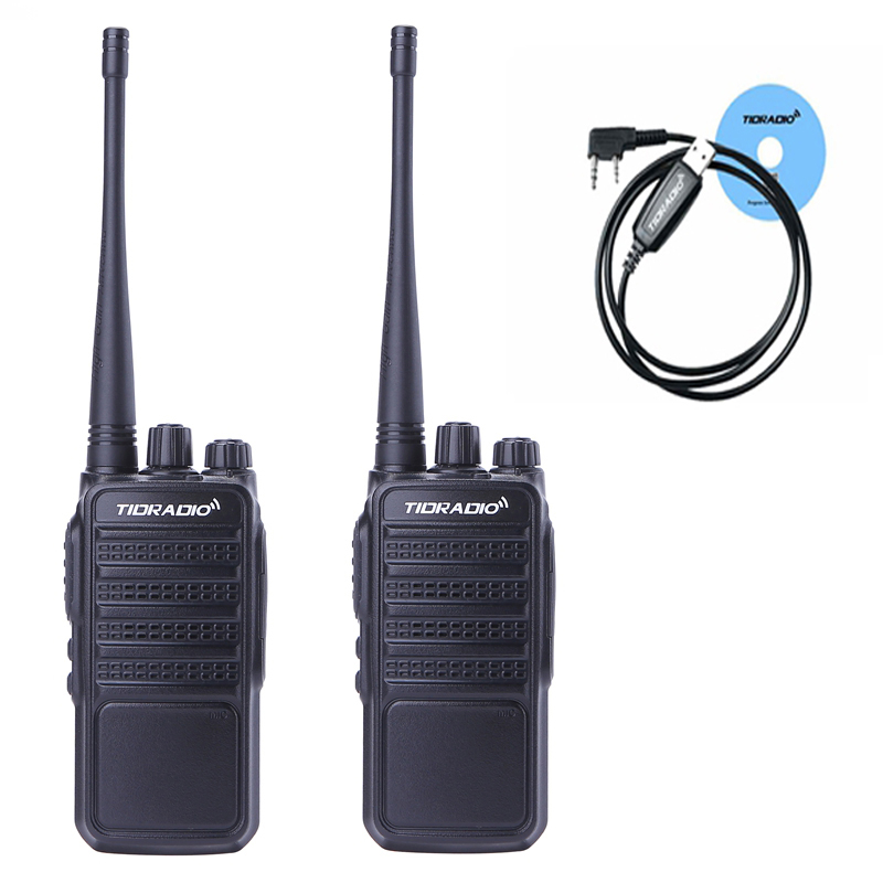 2pcs TID TD-Q2 new portable Walkie Talkie  uhf 400-480 MHZ Portable Handheld Radio For CB Radio Station  Hunting Walkie Talkie2pcs TID TD-Q2 new portable Walkie Talkie  uhf 400-480 MHZ Portable Handheld Radio For CB Radio Station  Hunting Walkie Talkie