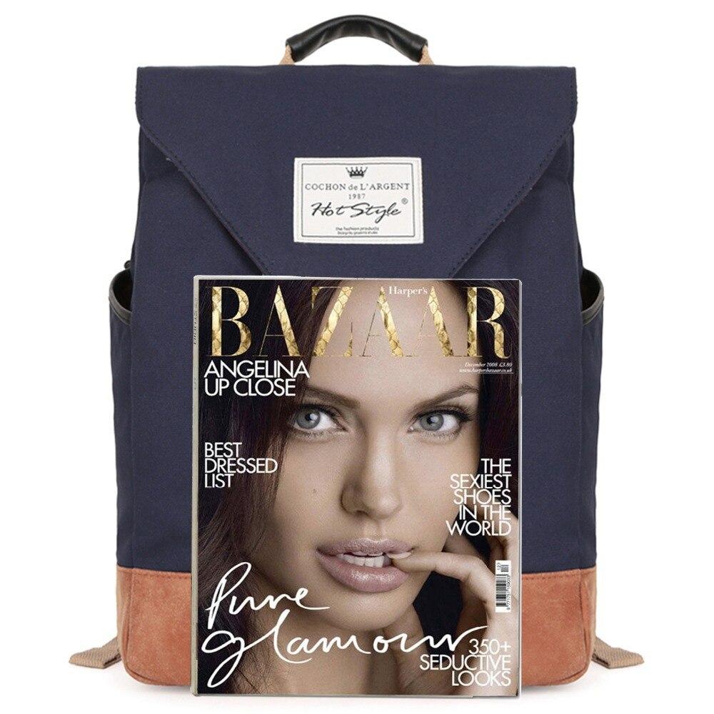 mochilas de lona sacolas de Capacidade : Below 20 Litre