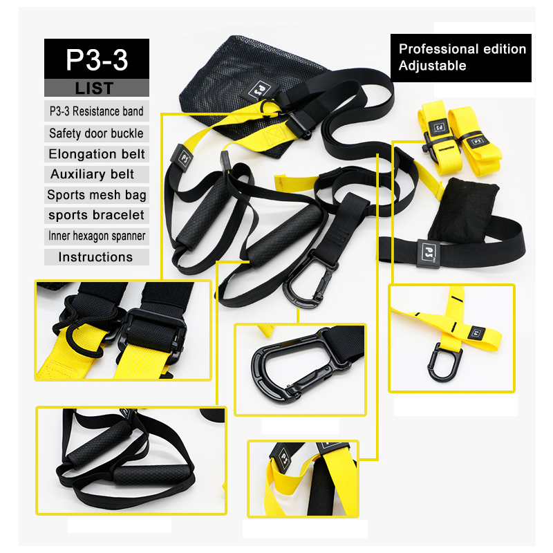 YOUGLE High Quality Resistance Bands Hanging Training