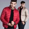 2017 Hombres de Invierno ultraligero Pato Abajo Cubre La Chaqueta, Ropa de Marca chaquetas puffer Parka pluma chaqueta hombre chaqueta de invierno 187