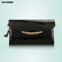 Genuine Leather Women Clutch Bags 2018 Cowhide Purse Evening Party Handbags Ladies Small Shoulder Bags PT1067