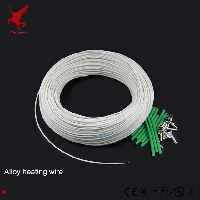 Fantastic 20M High Quality Alloy Heating Wire 5 230Volt 1 3000Ohm Silicon Wiring Digital Resources Arguphilshebarightsorg