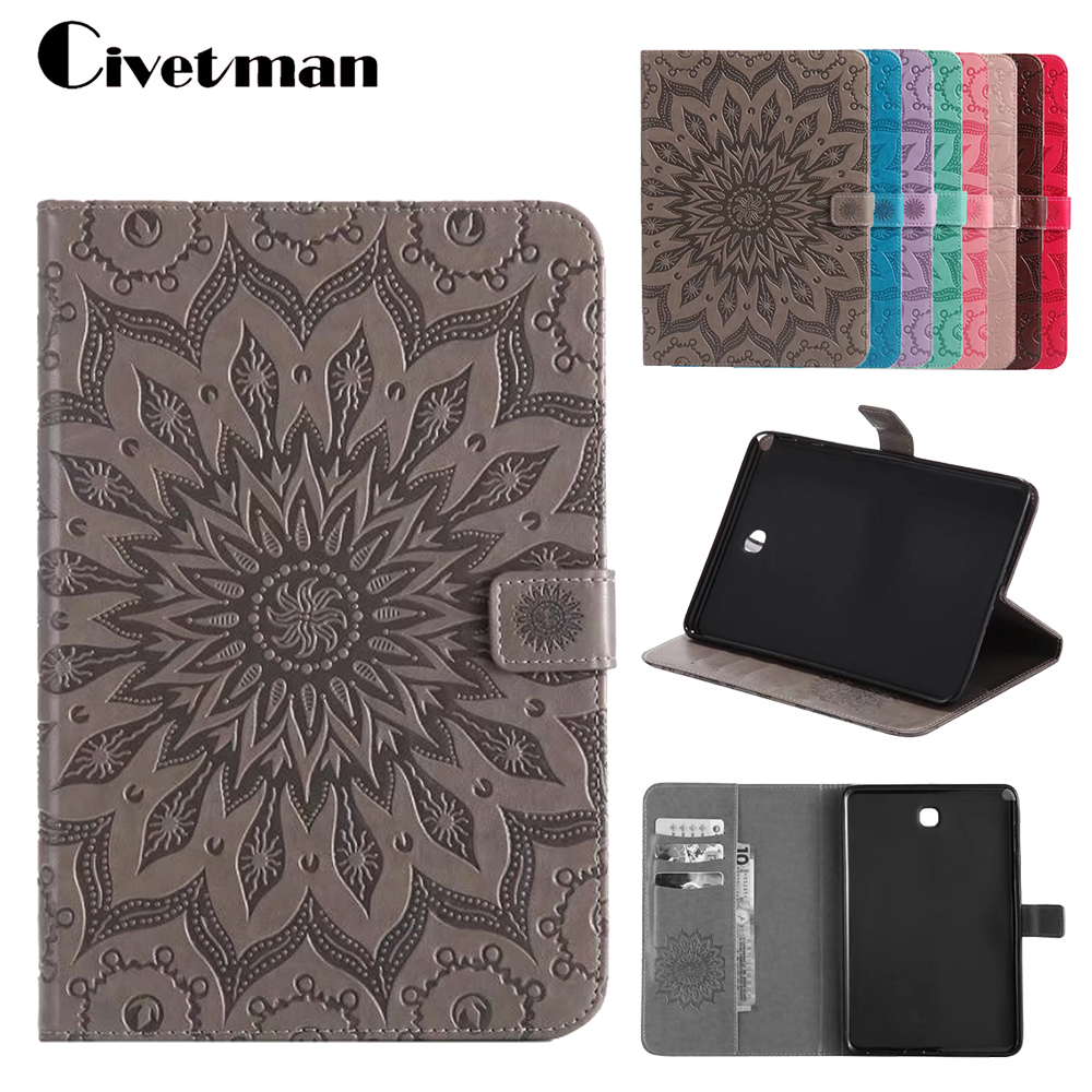 PU Leather Flip Print Case For Samsung Galaxy Tab A 8.0 inch T350 T350 T355 SM-T355 Stand Case Cover For Galaxy Tab A P350 new 8 inch for samsung galaxy tab a sm t350 t350 t351 t355 lcd display matrix touch screen digitizer full assembly t 350