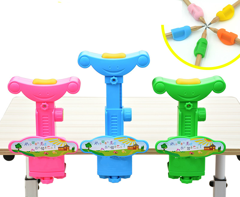 Multifunctional children vision protection sitting posture correction device automatic correcting sitting posture natural vision correction myopia control pen