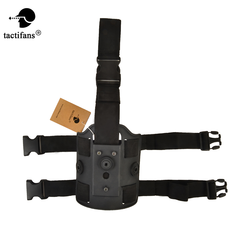 Tactical Holster Paddle for Glock 19 Taurus Sig 220 226 Beretta m9 Colt 1911 Thigh Holster Panel Pouch Leg Drop Plateform