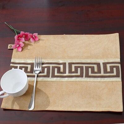 Лоскутный с вышивкой кружевное китайские столовые приборы стол колодки Статуэтка винтажный Европейский стиль бархатная ткань Настольный коврик - Цвет: Светло-желтый