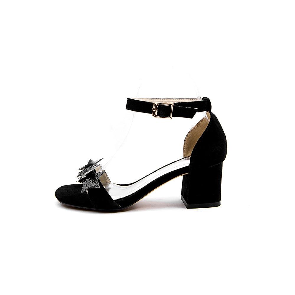 Noir Glitter bleu D'été Talons Moonmeek Véritable Chaussures Top De Élégant Qualité Nouvelle Hauts Femme 2018 Classique Boucle Arrivée Cuir bvIf7gyY6