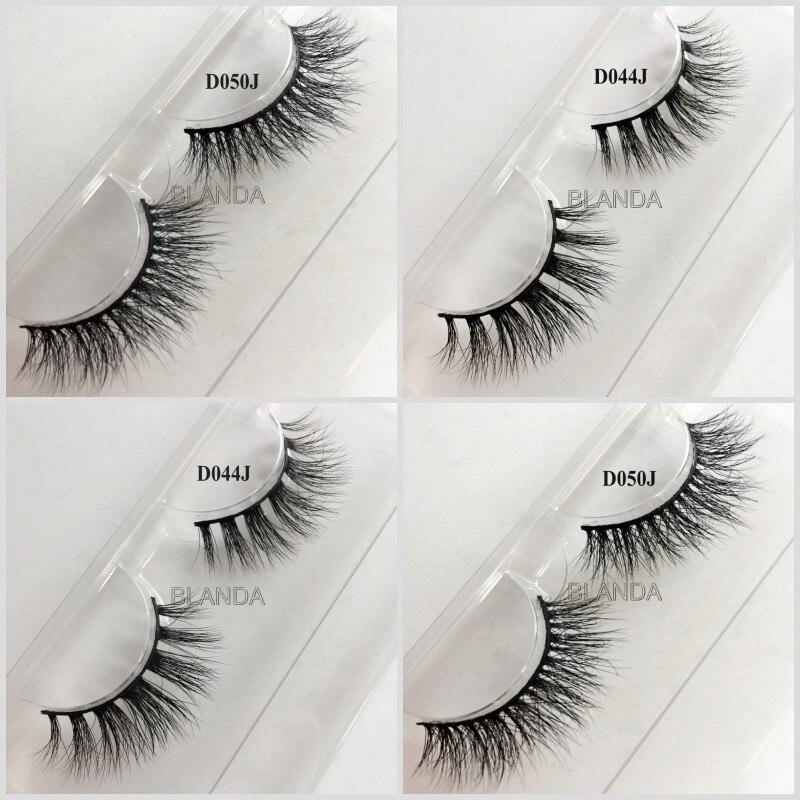 Mink Eyelash Natural Long Cheap Price False Eyelashes 3D ...