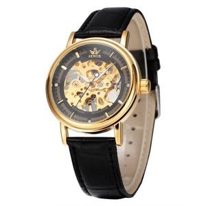 Image 4 - ผู้ชายนาฬิกาหรูSEWORนาฬิกาข้อมือยี่ห้อR EtroสายหนังโครงกระดูกนาฬิกาRelogioชายทองวิศวกรรมโครงกระดูกนาฬิกา