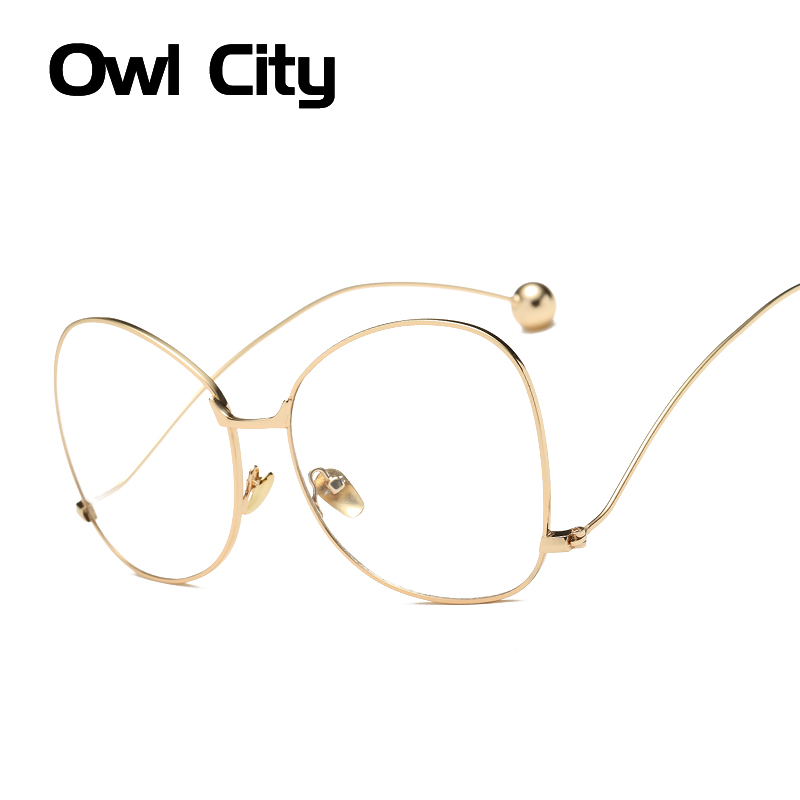 Fashion Oversized Eyeglasses Frames Women Brand Glasses Men Eyeglass Frame Optical Big Frame Glasses