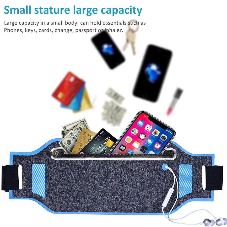 1 PC Ultralight Outdoor Running Bag Men Women Trail Waist Sport Mobile Phone Holder Belt Sport Accessories Lady Fitness Gear 13