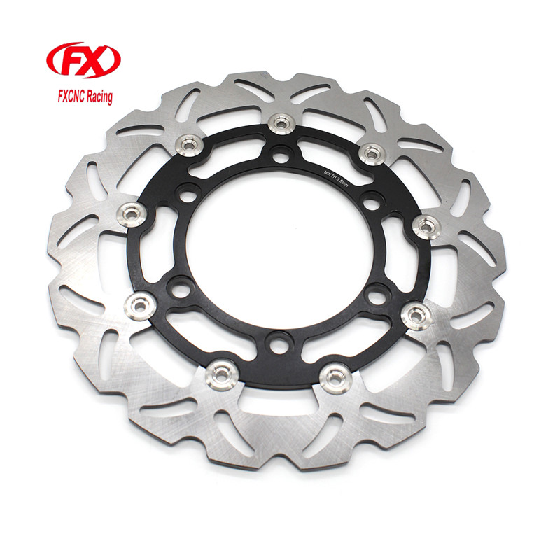 FX CNC Motorcycle Brake Disks Front Brake Disc Rotor For Honda CBR150R 2000 - 2003 Motorbike Front Brake Disc Rotor motorcycle front