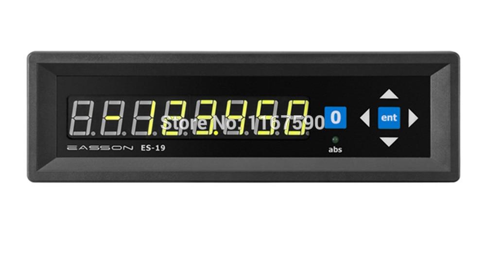Easson lecture numérique ES-19 affichage à un seul axe lecture numérique à un axe et échelle linéaire encodeur linéaire de 5 microns
