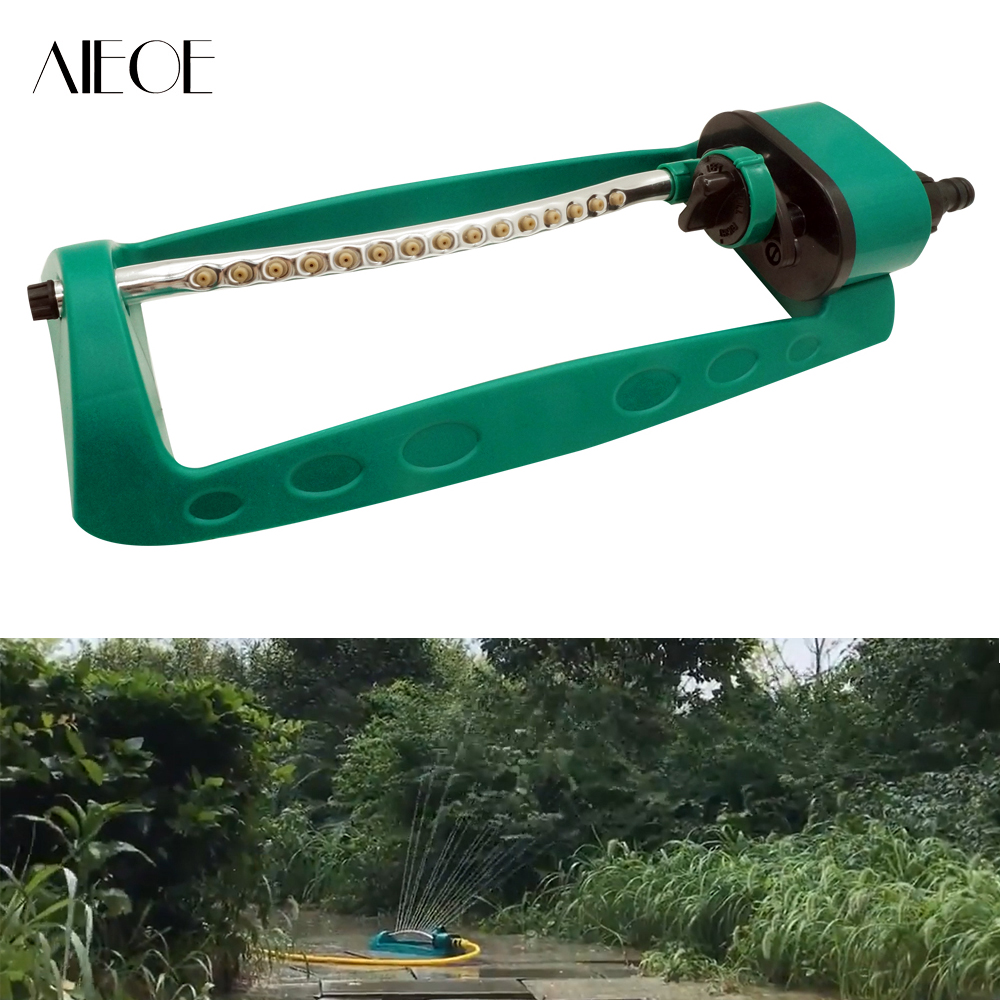 Hard-Working Aieoe Garden Pathlet Swing Sprinkler Lawn Agriculture Watering Irrigation System Garden Irrigation 15 Hole Nozzle Water Sprayer Consumers First Cleaning Tools