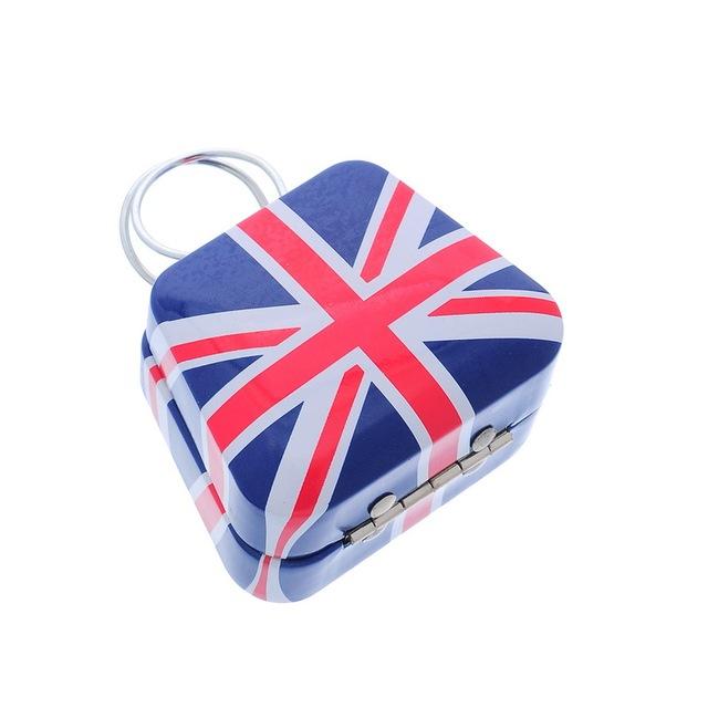 Mini Flag Handbag Shape Jewelry Box 67x55x37mm
