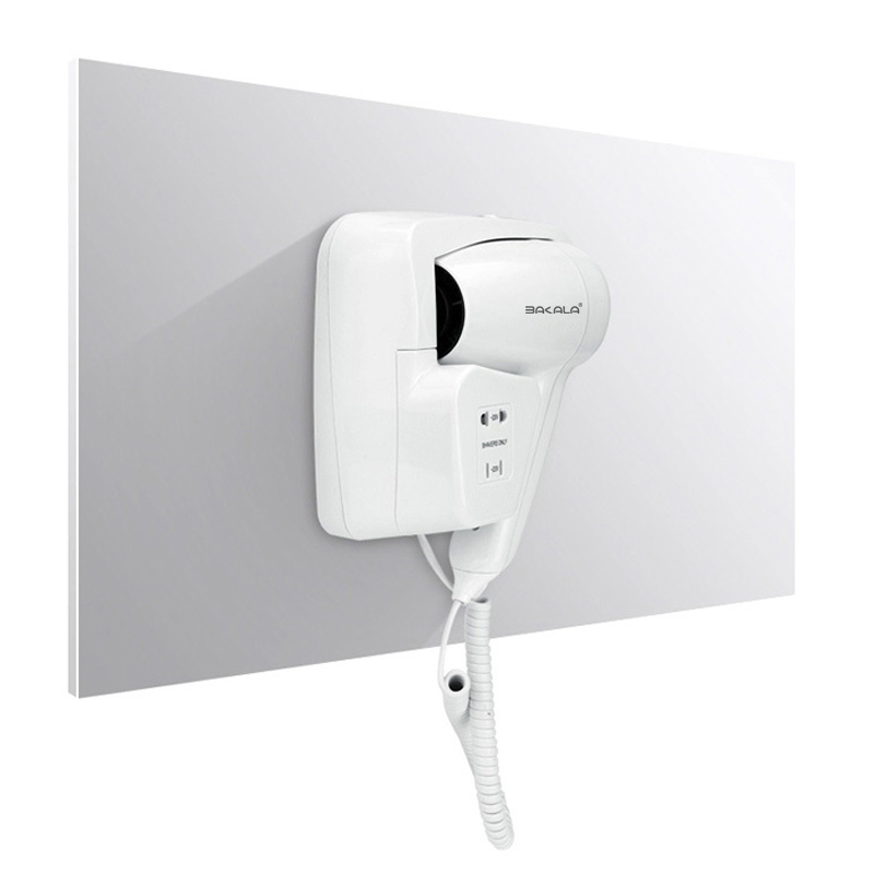 Hotel bathroom home bathroom Shelves Box hair dryer dry skin hanging wall hanging hair dryer 110v
