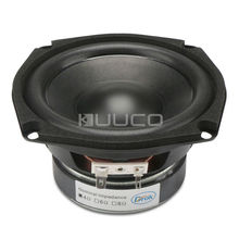 Shocking Bass Speaker 4.5-inch 4 ohms Subwoofer Speaker 40W Hi-Fi Stereo Loudspeaker Woofer Speaker for DIY speakers