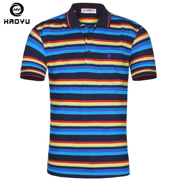 Striped Polo Shirt Fashion Men 2016 Summer Short Sleeve Polo's Turn-down Collar Polos Hombre Men's Casual Brand Polo Hot Sale