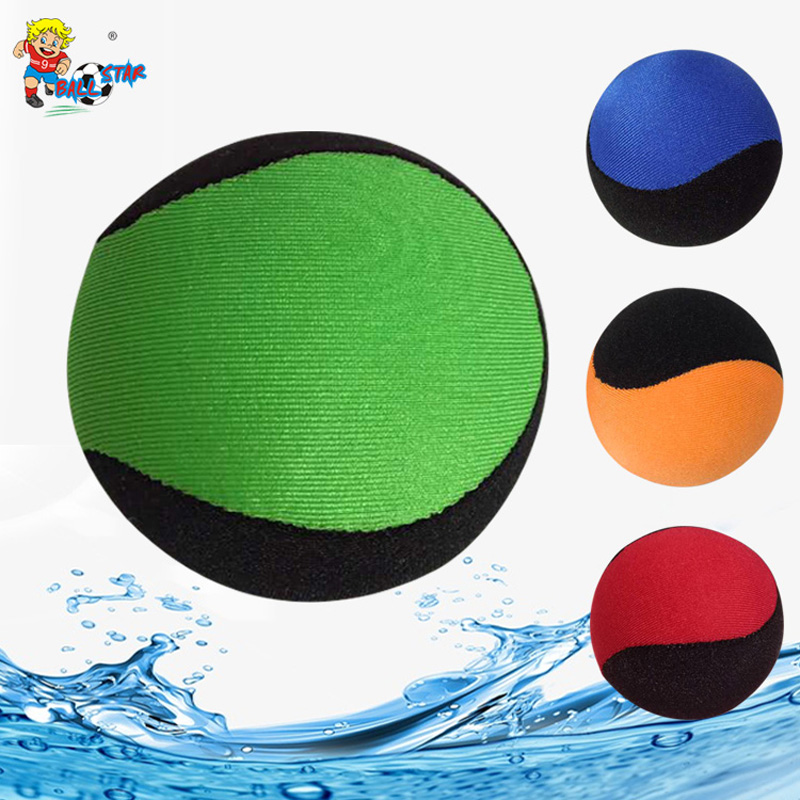 TPR Water Bouncing Ball Kids Adult Beach Seaside Pool Play Water Balloo Bunch Office Han ...