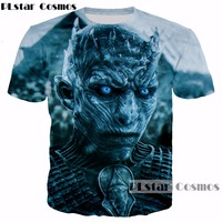 PLstar Cosmos TV Game Of Thrones Design Summer T Shirt Men Women Cool 3d T Shirt
